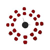 Nástěnné samolepicí hodiny Mauro Ferretti Apples
