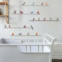 Nástěnné samolepky Art For Kids Little Birds