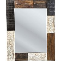 Nástěnné zrcadlo Kare Design Finca, 100x80cm