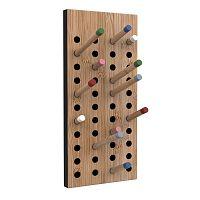 Nástěnný variabilní věšák z bambusu Moso We Do Wood Scoreboard,výška36cm