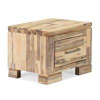 Noční stolek z akáciového dřeva Sey