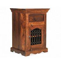 Noční stolek z palisandrového dřeva Massive Home Lia