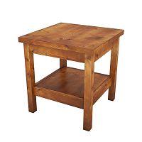 Odkládací stolek zborovicového masivu Dino