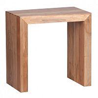 Odkládací stolek z masivního akáciového dřeva Skyport Nazarena