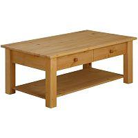 Odkládací stolek z masivního borovicového dřeva Støraa Yvonne