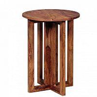Odkládací stolek z masivního palisandrového dřeva Skyport Malvina