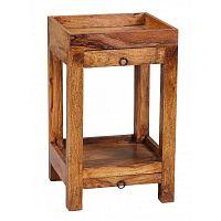 Odkládací stolek z masivního palisandrového dřeva Skyport Marilú