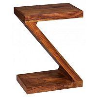Odkládací stolek z masivního palisandrového dřeva Skyport Renee