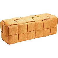 Oranžová lavice Kare Design Woven Orange