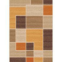 Oranžovobéžový koberec Universal Nilo, 57x110cm