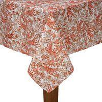 Oranžový ubrus na stůl Bella Maison,150x250cm