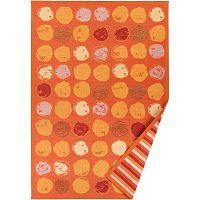 Oranžový vzorovaný oboustranný koberec Narma Veere, 160x230cm