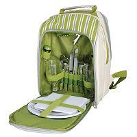Pikniková chladicí taška s nádobím pro 2 osoby EsschertDesignPicnic