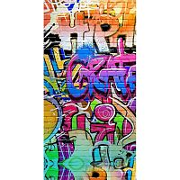 Plážová osuška s potiskem Good Morning Grafity, 150 x 75 cm