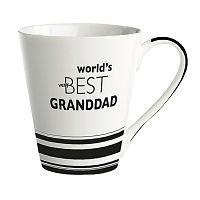 Porcelánový hrnek KJ Collection World's Best Granddad, 300ml