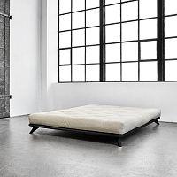 Postel Karup Senza Bed Black,140x200cm