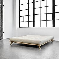 Postel Karup Senza Bed Natural, 140 x 200 cm