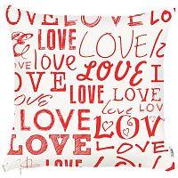 Povlak na polštář Apolena Crazy In Love, 43 x 43 cm