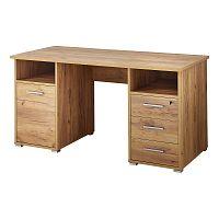 Pracovní stůl v dekoru dubového dřeva Germania Desk