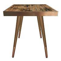 Příruční stolek Caresso Autumn Square, 45 x 45 cm