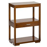 Příruční stolek se zásuvkou ze dřeva mindi Santiago Pons Madera