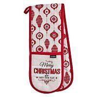 Prodloužená chňapka s vánočním motivem Ladelle Merry Christmas
