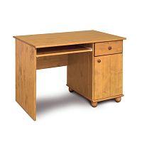 Psací stůl z borovicového dřeva Faktum Tomi