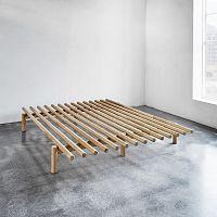 Rám postele z borovicového dřeva Karup Pace,160x200cm