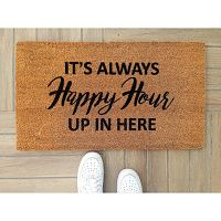 Rohožka Doormat Happy Hour, 70 x 40 cm