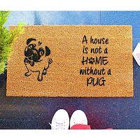 Rohožka Doormat Pug, 70 x 40 cm