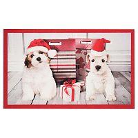 Rohožka Zala Living Christmas Dogs, 45x75 cm