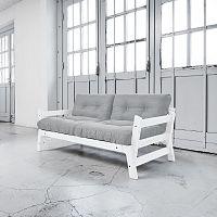 Rozkládací pohovka Karup Step White/Light Grey