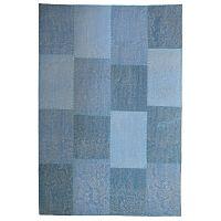 Ručně tkaný modrý koberec Kayoom Emotion 222 Multi Blau, 160 x 230 cm