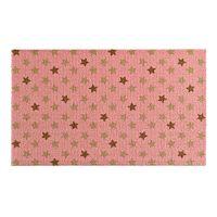 Růžová rohožka Zala Living Design Star Pink, 50x70cm
