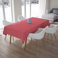 Růžový ubrus, 140x180cm