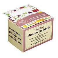 Sada 100 štítků na označení zavařenin KitchenCraft Home Made Chutney