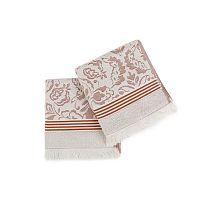 Sada 2 bavlněných ručníků Chora, 50x100cm