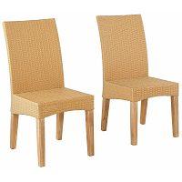 Sada 2 béžových jídelních židlí  Støraa Matrix