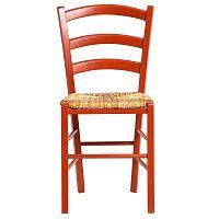 Sada 2 červených jídelních židlí Marckeric Paloma