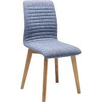Sada 2 modrých jídelních židlí Kare Design Lara