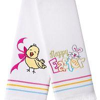 Sada 2 ručníků Apolena Happy Easter Chick, 50x76 cm