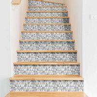Sada 2 samolepek na schody Ambiance Stairs Stickers Hege, 15 x 105 cm