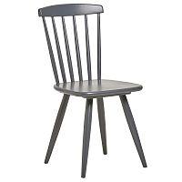 Sada 2 šedých jídelních židlí Marckeric Jade