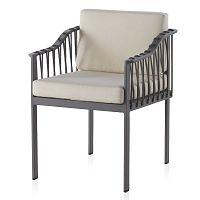 Sada 2 šedých zahradních židlí Geese Mula