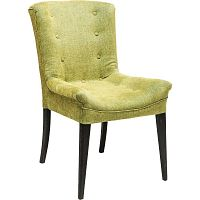 Sada 2 tmavě zelených jídelních židlí Kare Design Stay
