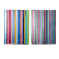 Sada 2 utěrek Remember Purple Stripes, 70x50cm