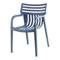 Sada 4 modrých židlí sømcasa Rodie