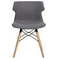 Sada 4 šedých jídelních židlí Marckeric Cala