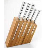 Sada 5 nožů a stojanu na nože Jean Dubost Kimono Bamboo
