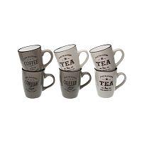 Sada 6 hrnků Versa Coffee & Tea